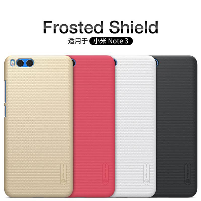 Nillkin Super Frosted Shield Matte cover case for Xiaomi Mi Note 3