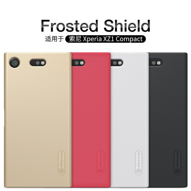 pretty nice f70b6 e3374 Nillkin Super Frosted Shield Matte cover case for Sony Xperia XZ1 Compact