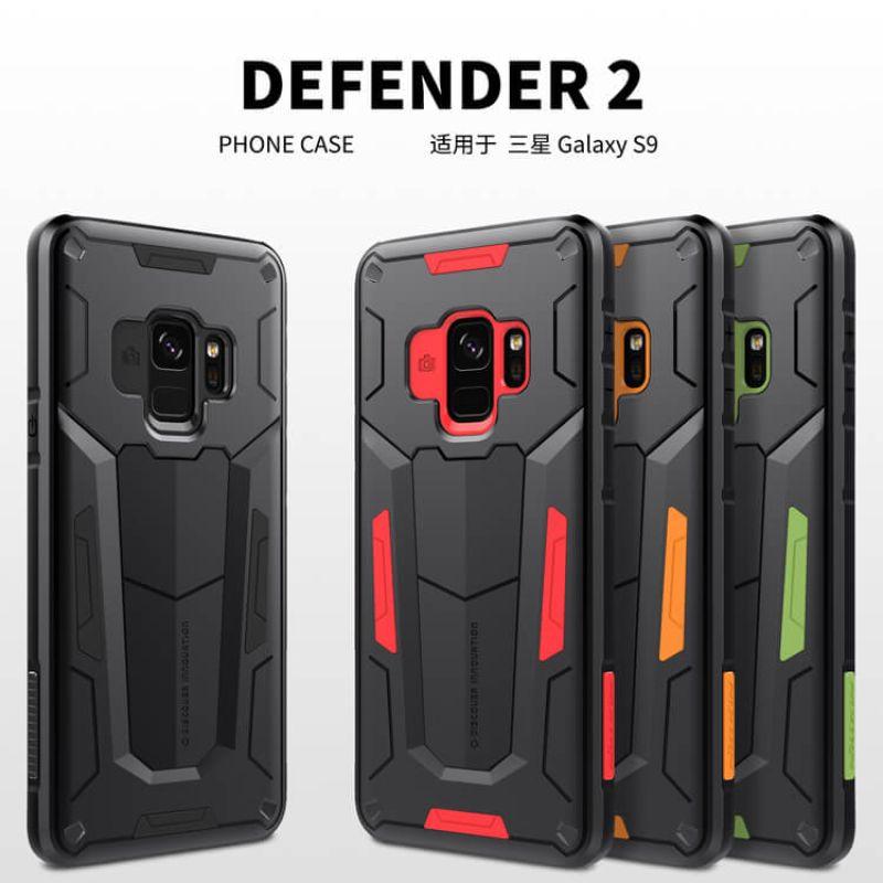 buy popular bbaf7 0eeed Nillkin Defender 2 Series Armor-border bumper case for Samsung Galaxy S9