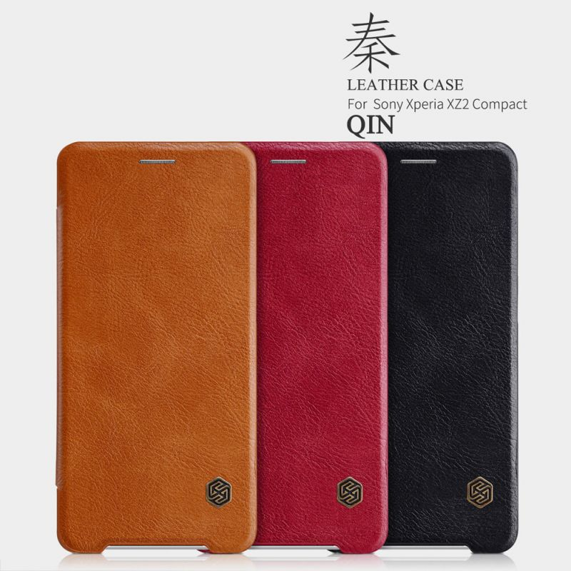 Nillkin Qin Series Leather case for Sony Xperia XZ2 Compact order from official NILLKIN store
