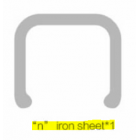 NILLKIN N iron shape metal plate for Car Magnetic QI Wireless Charger II