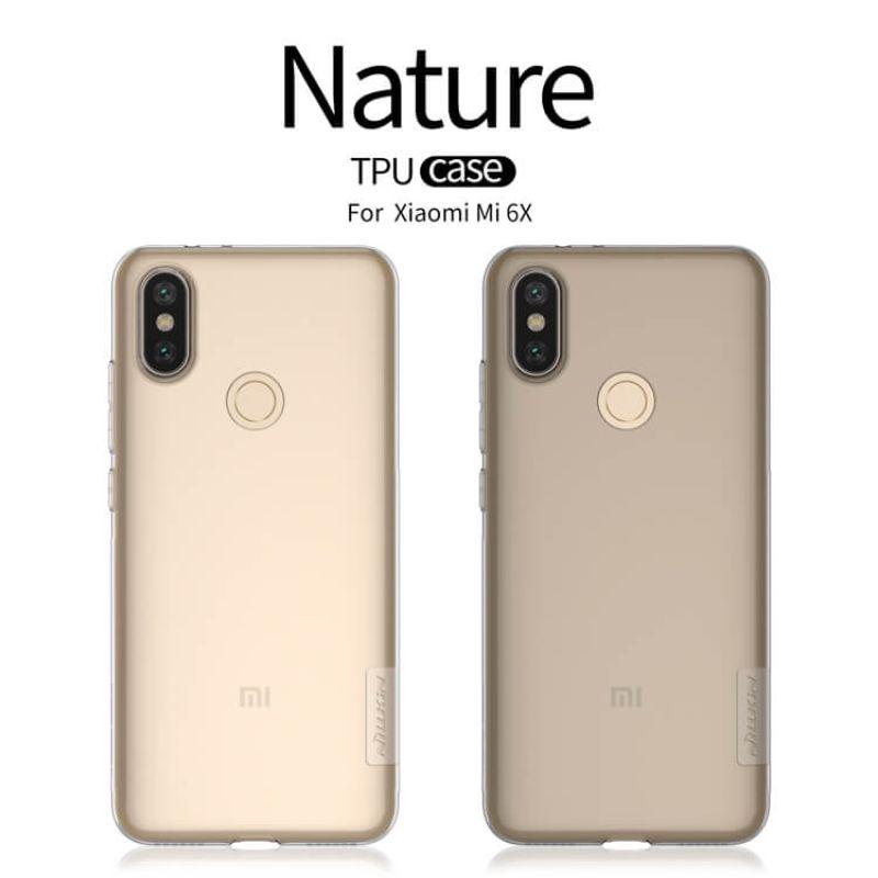 Nillkin Nature Series TPU case for Xiaomi Mi 6X (Xiaomi Mi A2) order from official NILLKIN store