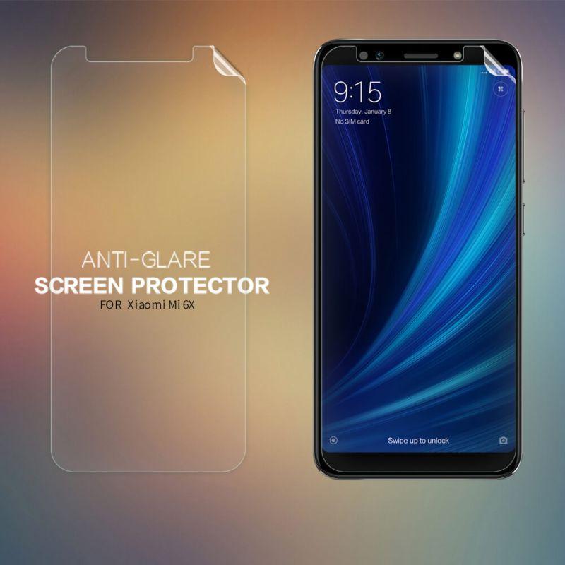 Nillkin Matte Scratch-resistant Protective Film for Xiaomi Mi 6X (Xiaomi Mi A2) order from official NILLKIN store