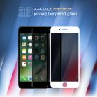 Nillkin Amazing 3D AP+ Max privacy tempered glass screen protector for Apple iPhone 8 Plus / iPhone 7 Plus