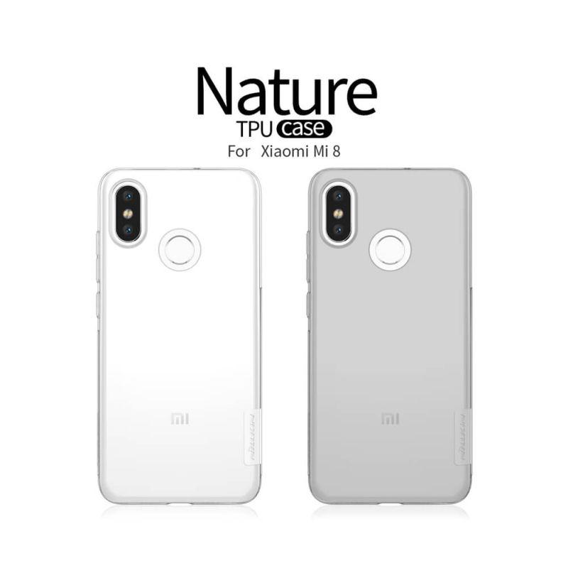 innovative design 864da 5e0d8 Nillkin Nature Series TPU case for Xiaomi Mi8 Mi 8