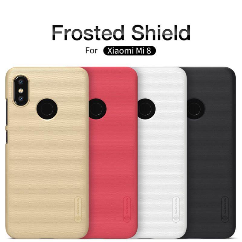 best sneakers 27900 a1aa1 Nillkin Super Frosted Shield Matte cover case for Xiaomi Mi8 Mi 8