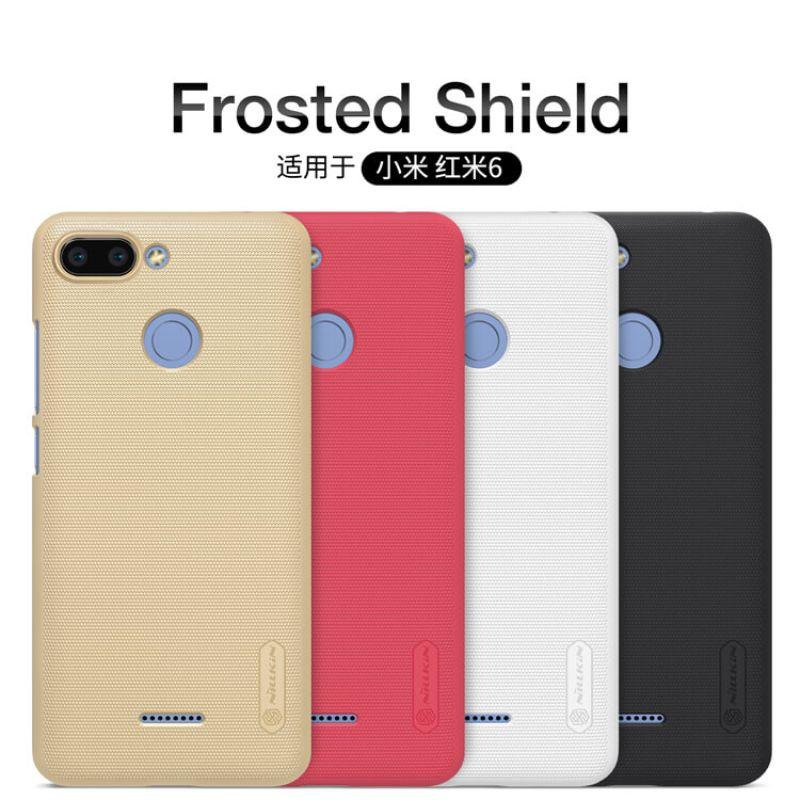 Nillkin Super Frosted Shield Matte cover case for Xiaomi Redmi 6