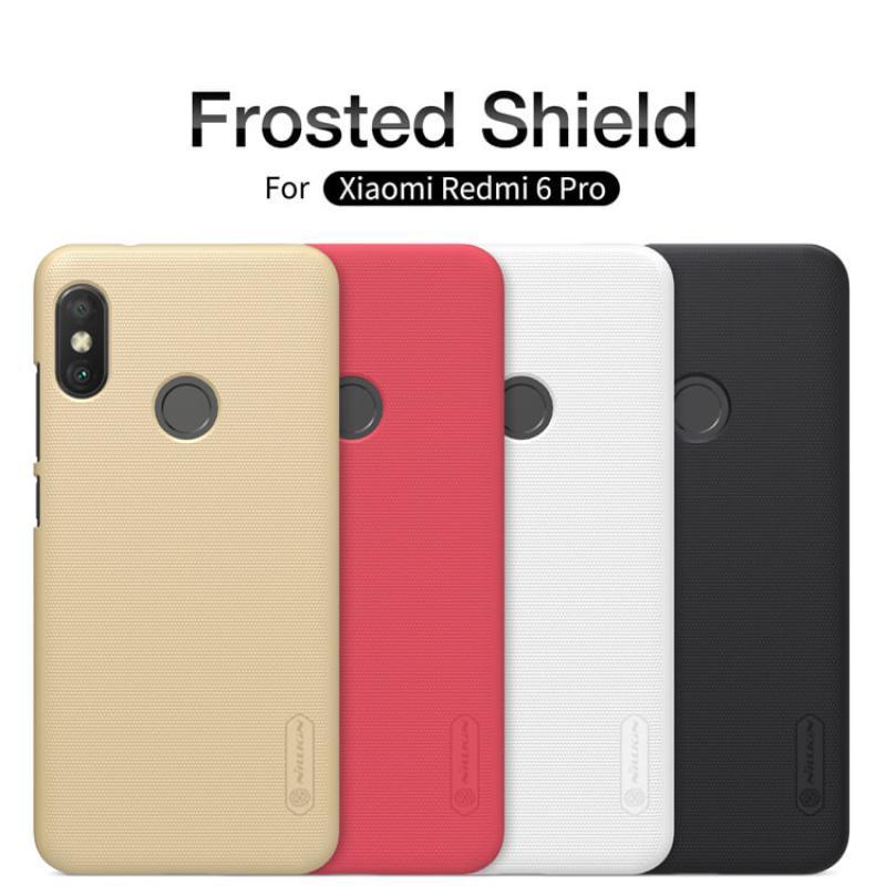 df2f30cd2 Nillkin Super Frosted Shield Matte cover case for Xiaomi Redmi 6 Pro (Mi A2  Lite