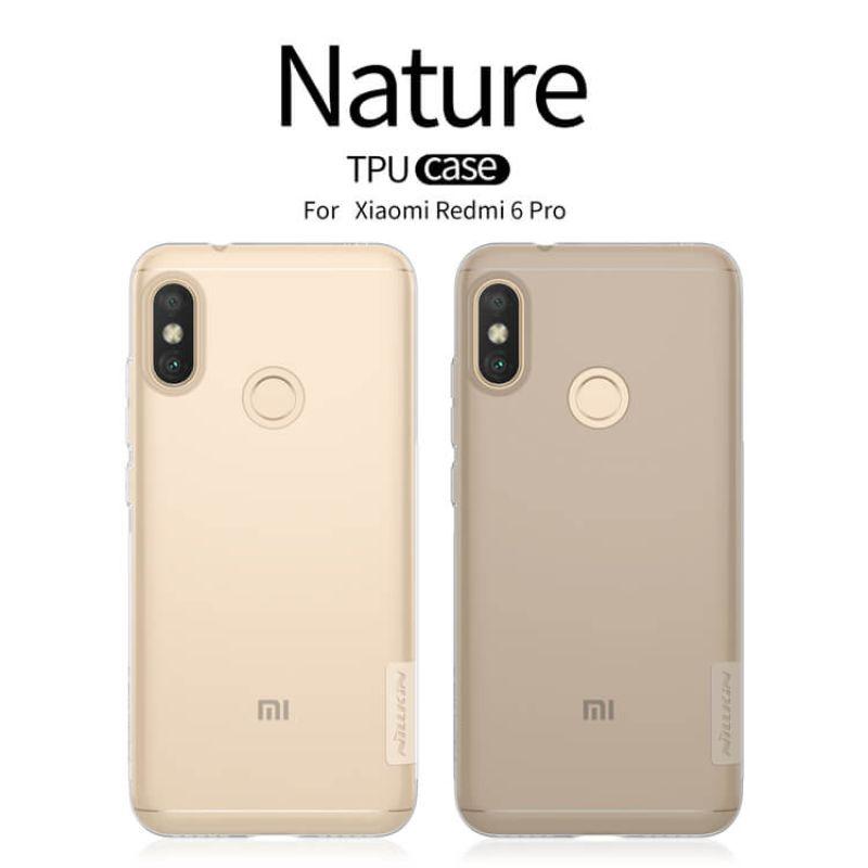 Nillkin Nature Series TPU case for Xiaomi Redmi 6 Pro (Mi A2 Lite)