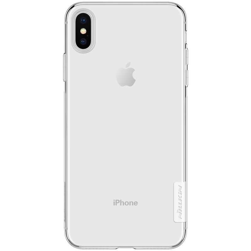 detailed look 82ee2 519bb Nillkin Nature Series TPU case for Apple iPhone XS Max (iPhone 6.5)