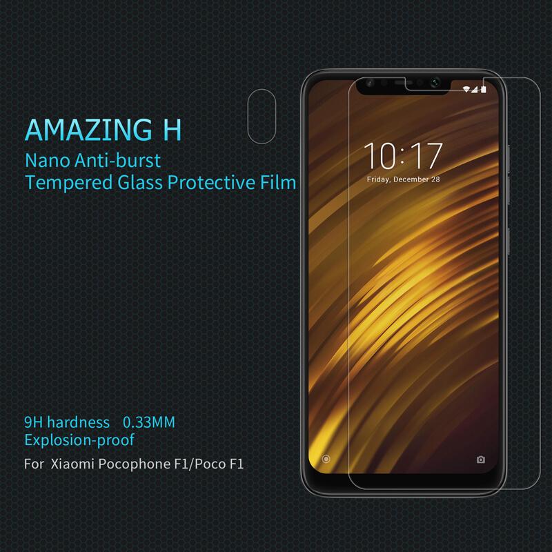 Nillkin Amazing H tempered glass screen protector for Xiaomi Pocophone F1  (Poco F1)