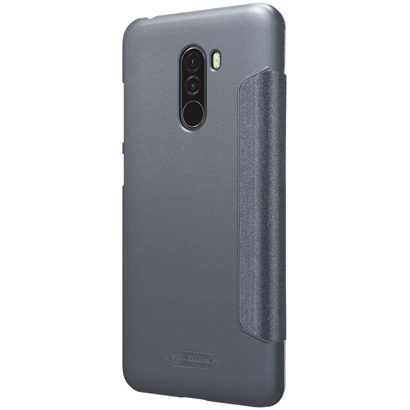 Nillkin Sparkle Series New Leather case for Xiaomi Pocophone F1 (Poco F1)
