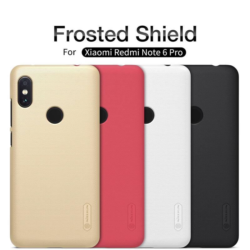 Nillkin Super Frosted Shield Matte cover case for Xiaomi Redmi Note 6 Pro