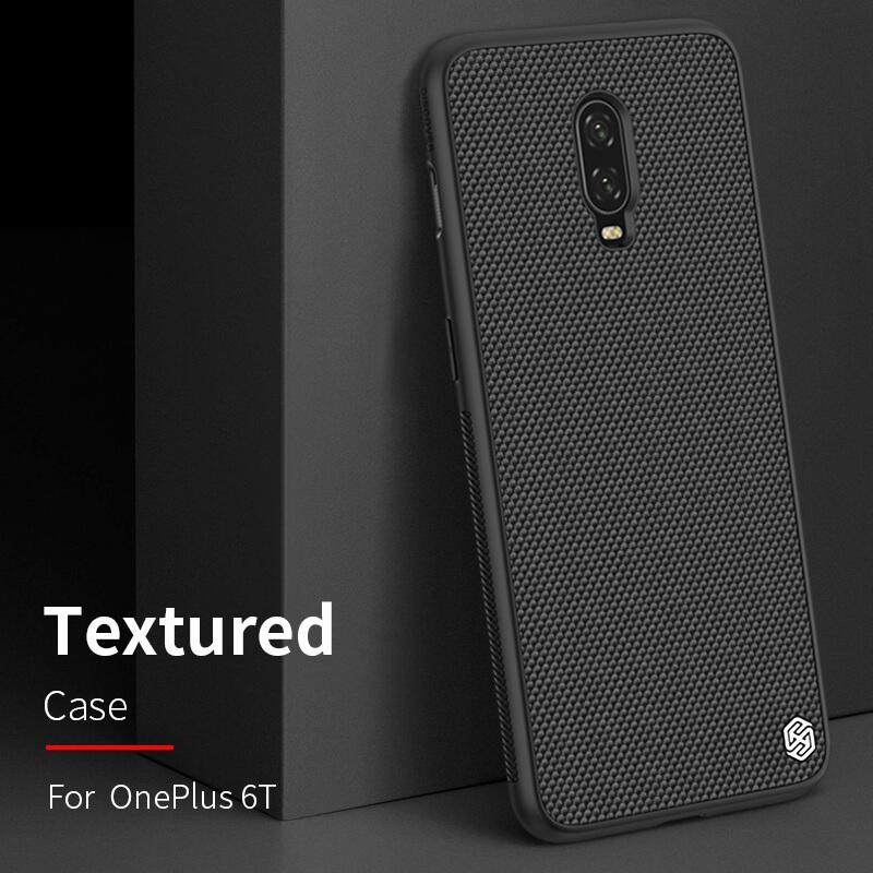 nillkin oneplus 6t  Nillkin Textured nylon fiber case for Oneplus 6T (A6013)