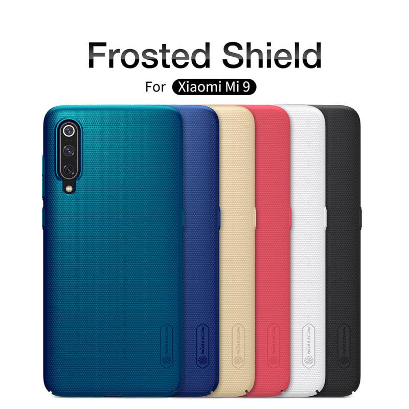 online store 2dd8a 066d3 Nillkin Super Frosted Shield Matte cover case for Xiaomi Mi9 (Mi 9)