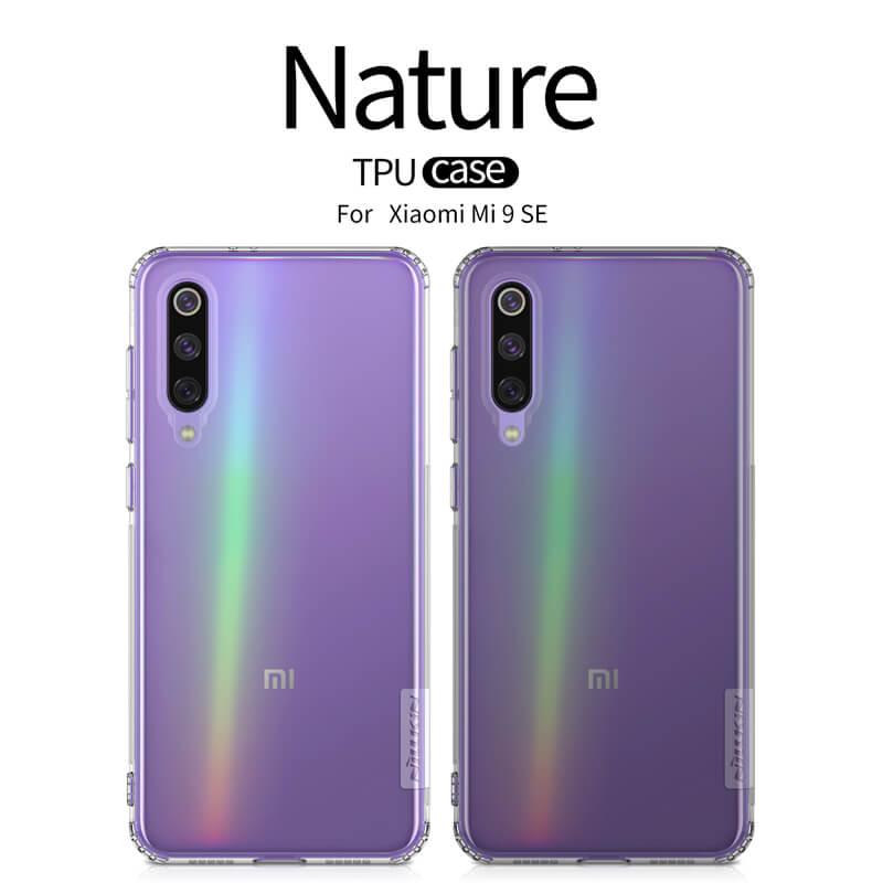 newest 727a7 0f6da Nillkin Nature Series TPU case for Xiaomi Mi9 SE (Mi 9 SE)