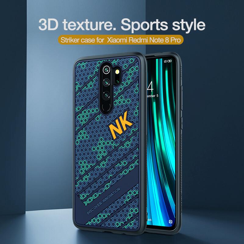 Nillkin Striker Sport Cover Case For Xiaomi Redmi Note 8 Pro