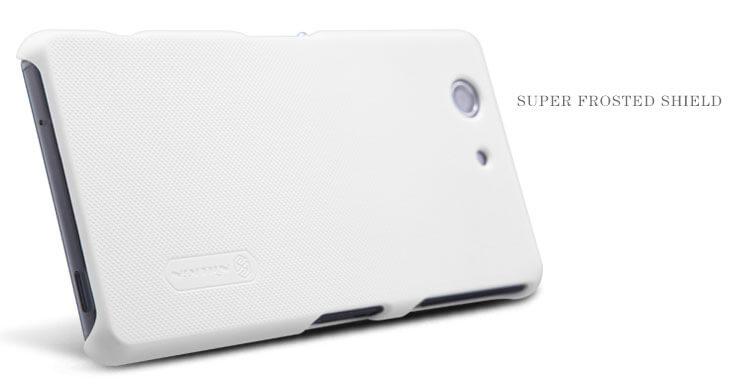 Nillkin Super Frosted Shield Matte cover case for Sony Xperia Z3 Compact (Z3 mini)