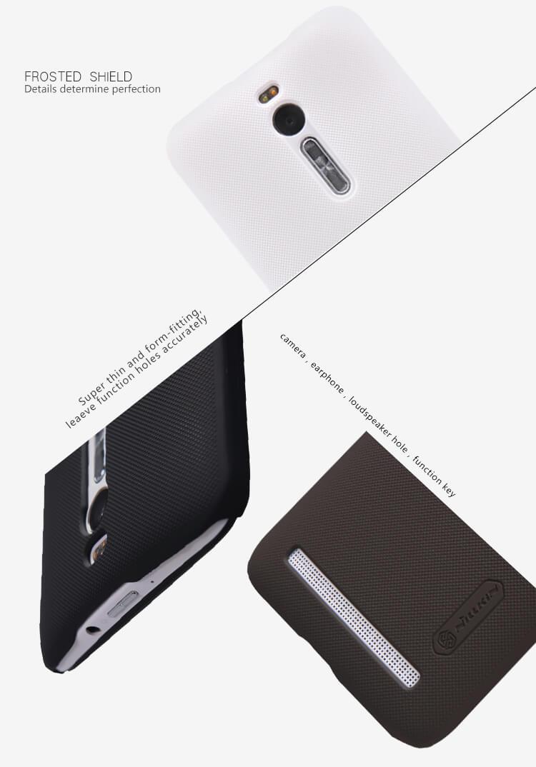 Nillkin Super Frosted Shield Matte Cover Case For Asus Zenfone 2 55 Smartphone Ze550ml Ze551ml