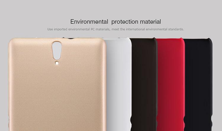 Nillkin Super Frosted Shield Matte cover case for Sony Xperia C5 Ultra/E5553/E5506/Xperia T4 Ultra (6.0inch)