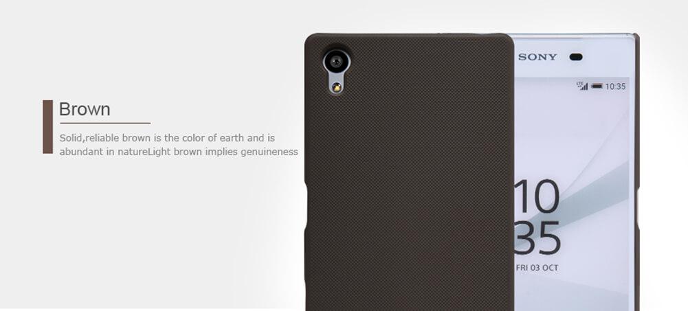 Nillkin Super Frosted Shield Matte cover case for Sony Xperia Z5 (E5803 E6603 E6633 E6653 E6683)