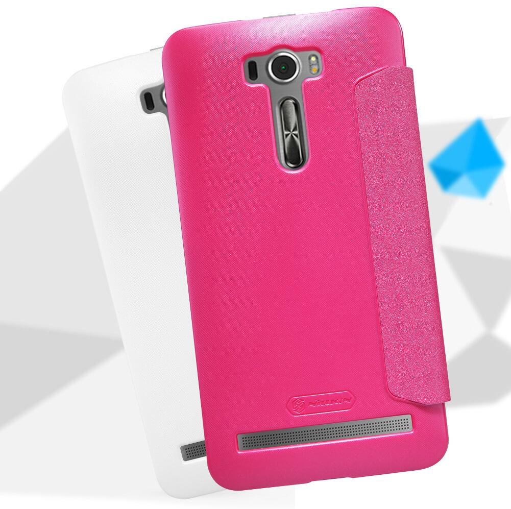 Nillkin Sparkle Series New Leather Case For Asus Zenfone 2 Laser Ze601kl