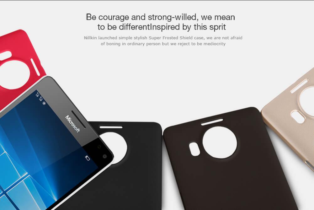 Nillkin Super Frosted Shield Matte cover case for Microsoft Lumia 950XL