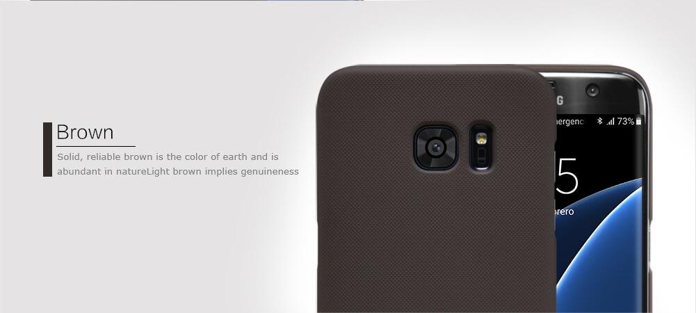 pretty nice f5b1c a6812 Samsung Galaxy S7 Edge Nillkin Super Frosted Shield Matte Back Cover Case