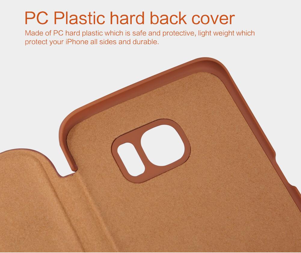 Nillkin Qin Series Leather case for Samsung Galaxy S7 Edge/G9350/G935A/G935F(5.5)