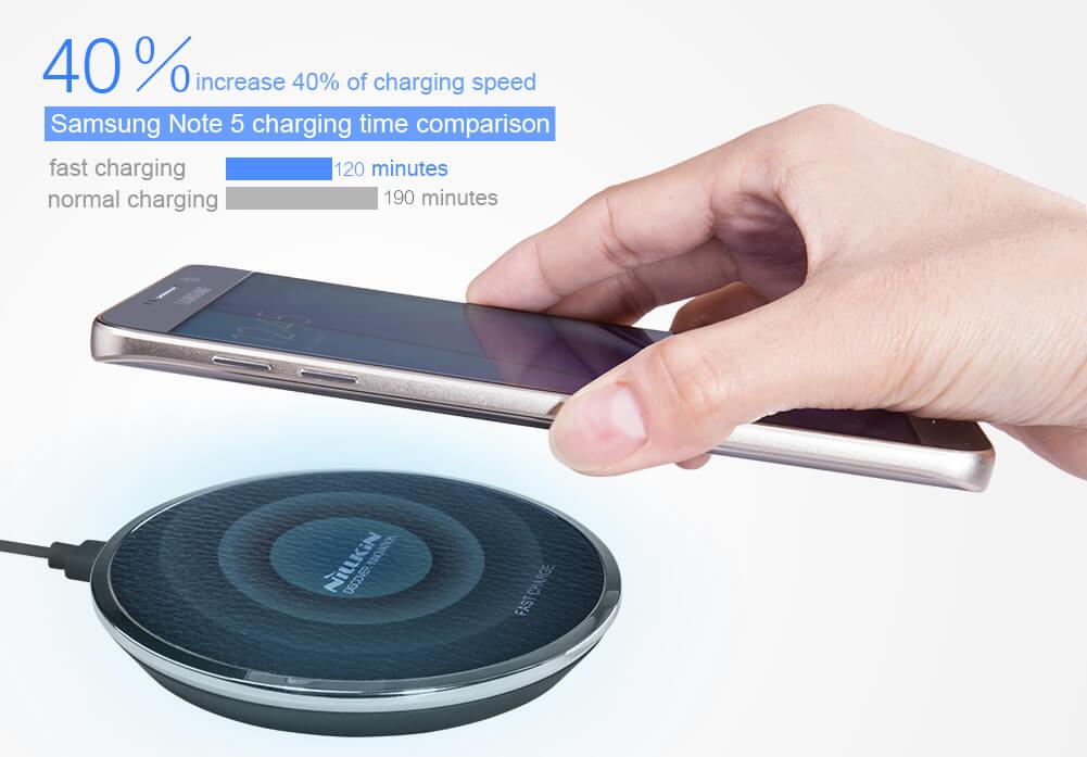 nillkin qi wireless charger magic disk iii fast charge edition