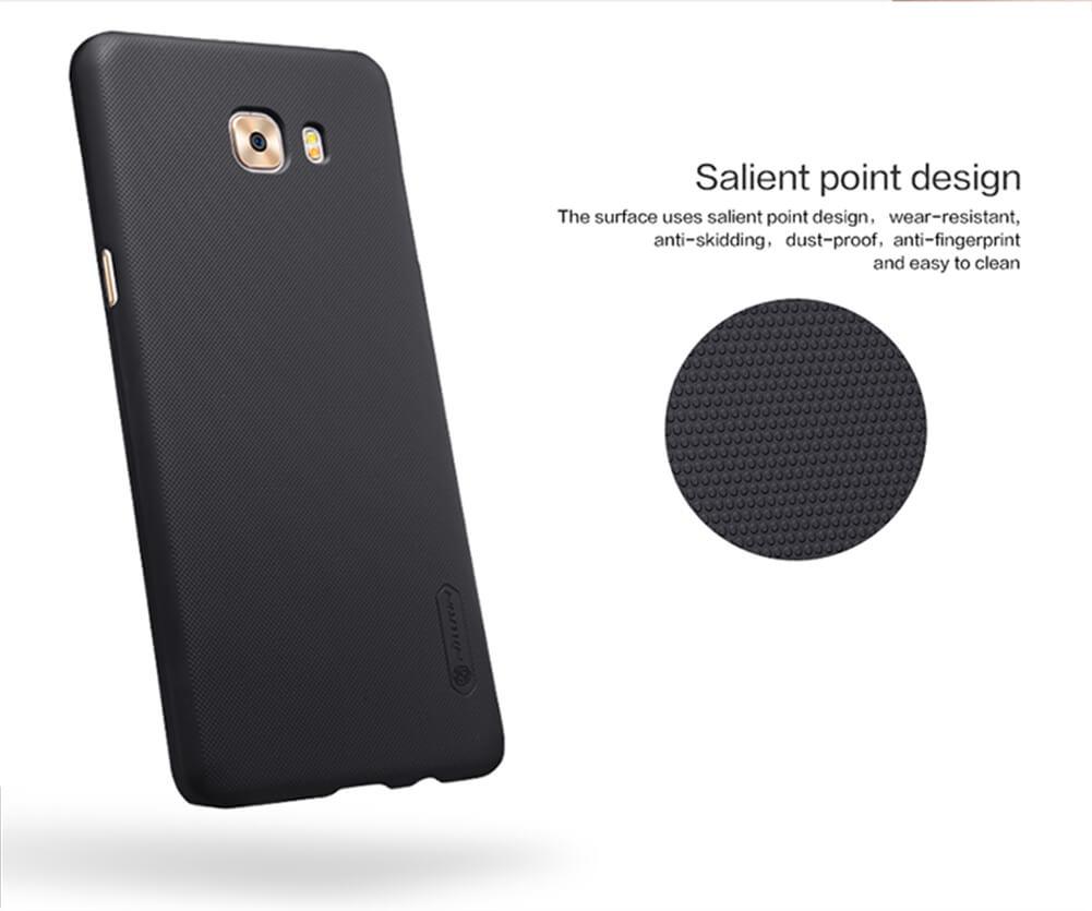 Nillkin Nature Tpu Samsung Galaxy C9 Pro White Spec Dan Daftar C900 Super Frosted Shield Matte Cover Case For