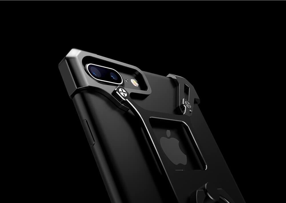 iphone 7 case black metal