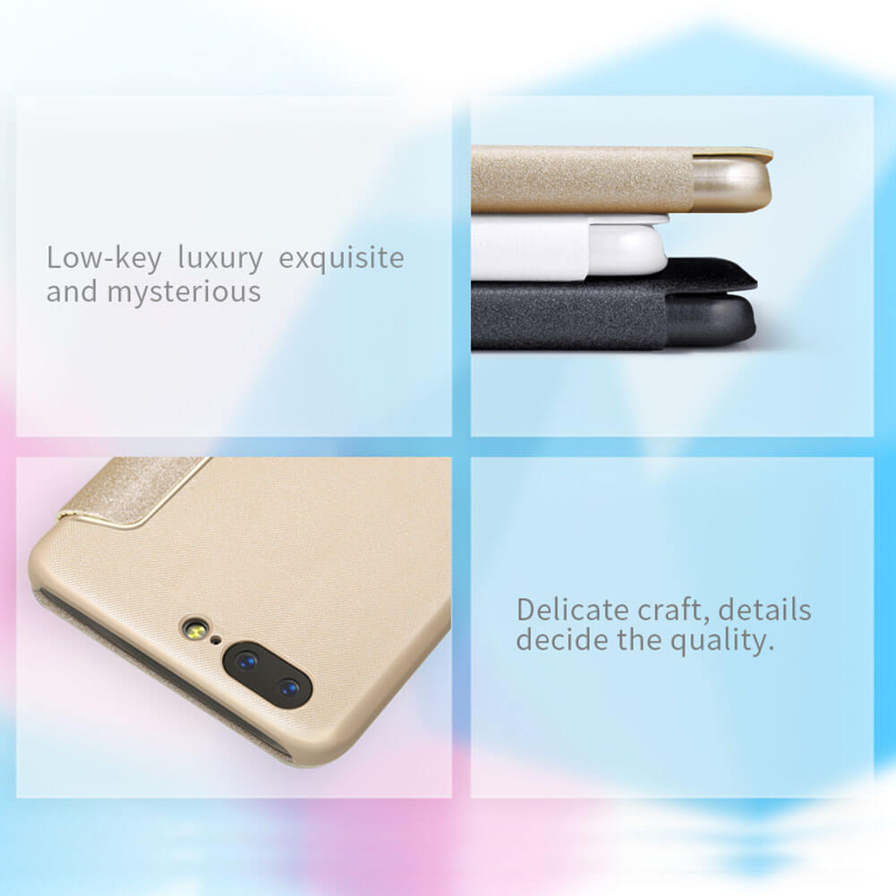 Nillkin Sparkle Series New Leather case for Oneplus 5 (A5000 A5003 A5005)