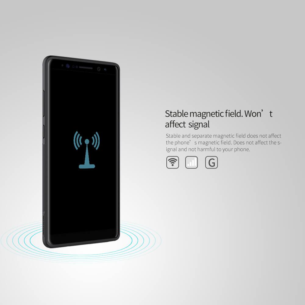 best cheap f672c 40fdb Nillkin Magic Qi wireless charger case for Samsung Galaxy Note 8