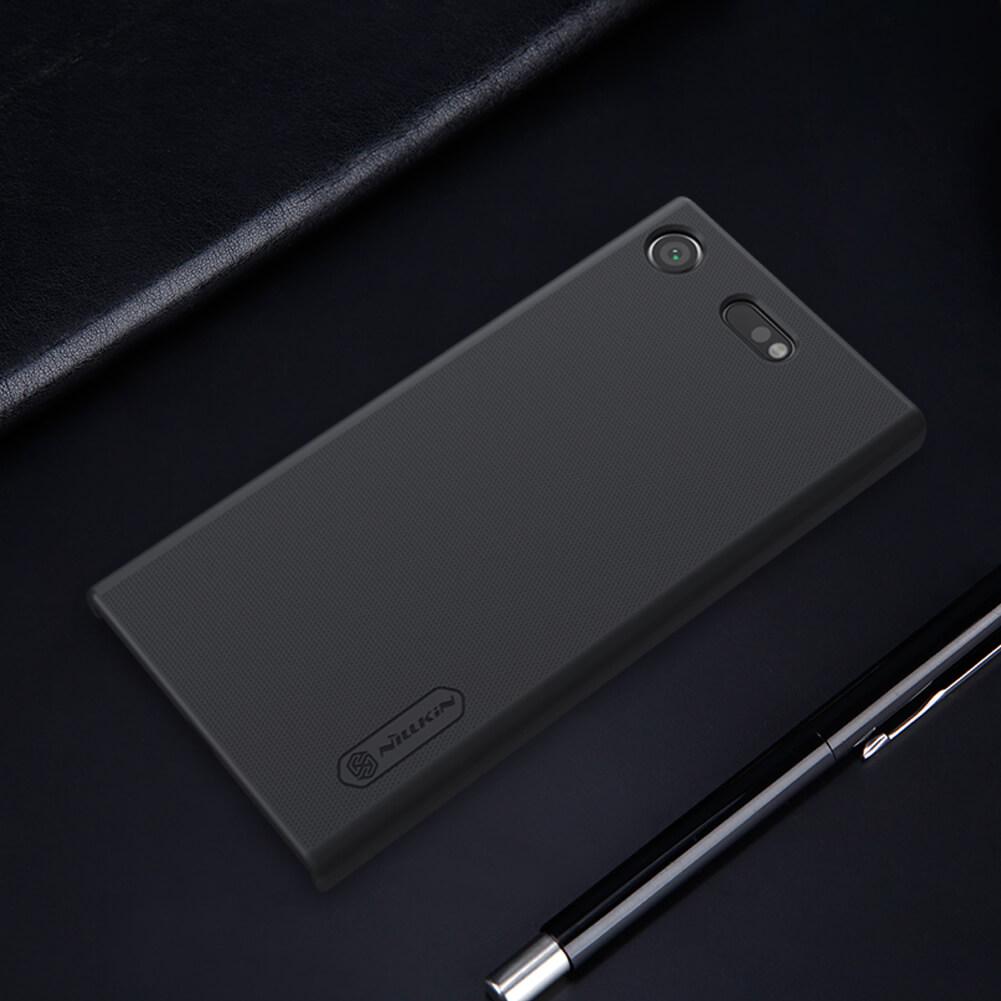 pretty nice 2f7a3 5edbf Nillkin Super Frosted Shield Matte cover case for Sony Xperia XZ1 Compact