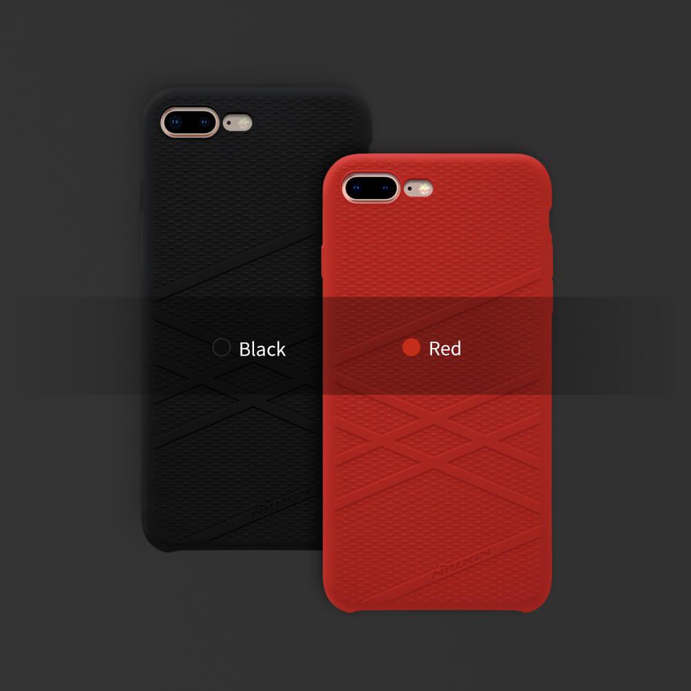 competitive price 1d1ea 23f86 Nillkin Flex liquid silicone cover case for Apple iPhone 8 Plus