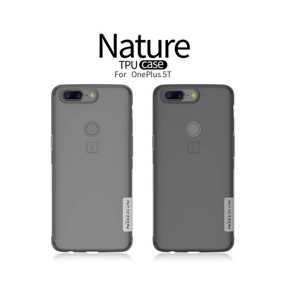 Nillkin Nature Series TPU tok az Oneplus 5T-hez (A5010)