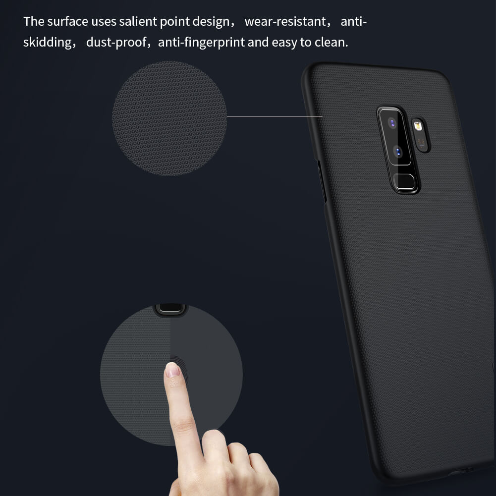 Nillkin Super Frosted Shield Matte cover case for Samsung Galaxy S9 Plus