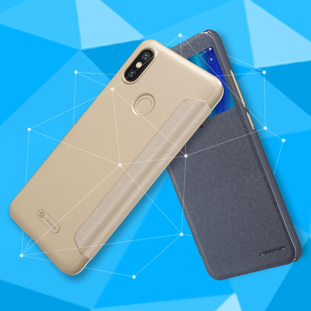 Nillkin Sparkle sorozat Új bőr tok Xiaomi Mi 6X (Xiaomi Mi A2)