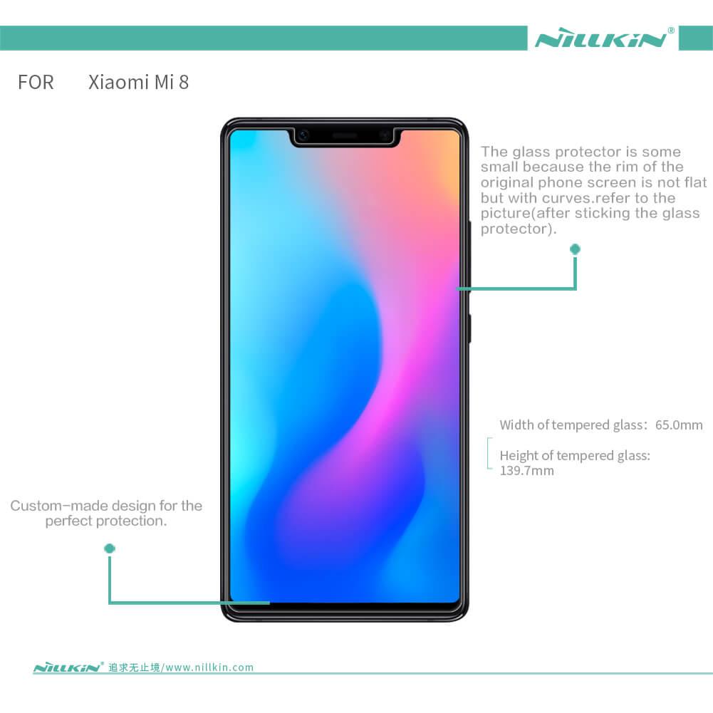 Nillkin Amazing H tempered glass screen protector for Xiaomi Mi8 SE (Mi 8  SE)