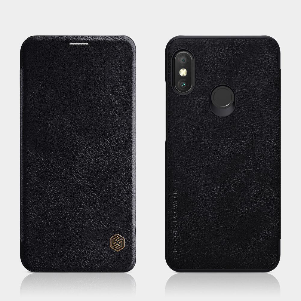 80e1656cf Nillkin Qin Series Leather case for Xiaomi Redmi 6 Pro (Mi A2 Lite)