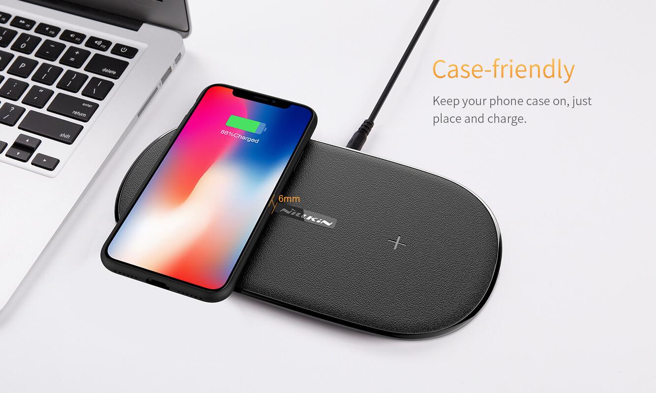 NILLKIN QI Gemini dual fast charging pad