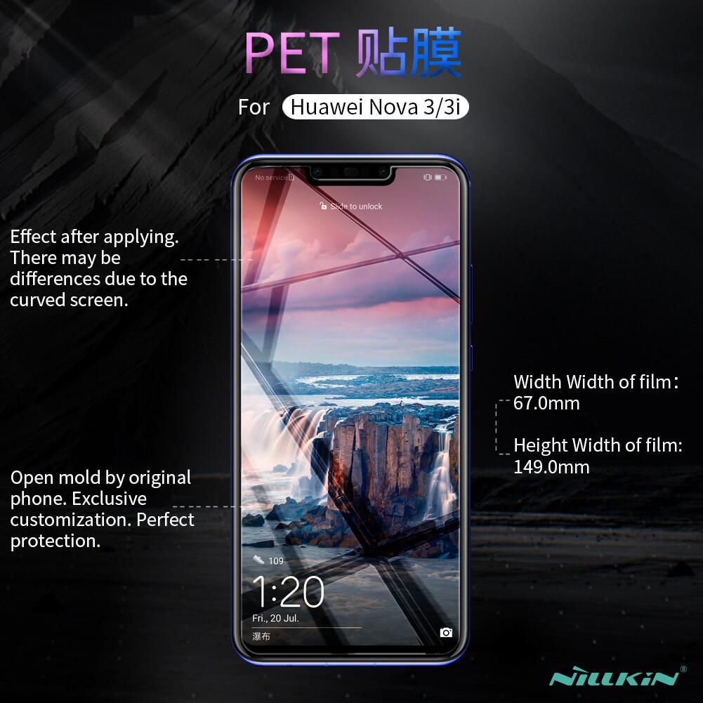 Nillkin Super Clear Anti-fingerprint Protective Film for Huawei Nova 3,  Huawei Nova 3i