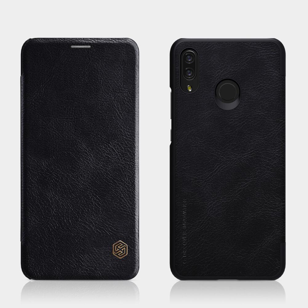 timeless design 2e95e 6cd1e Nillkin Qin Series Leather case for Huawei P Smart Plus / Nova 3i