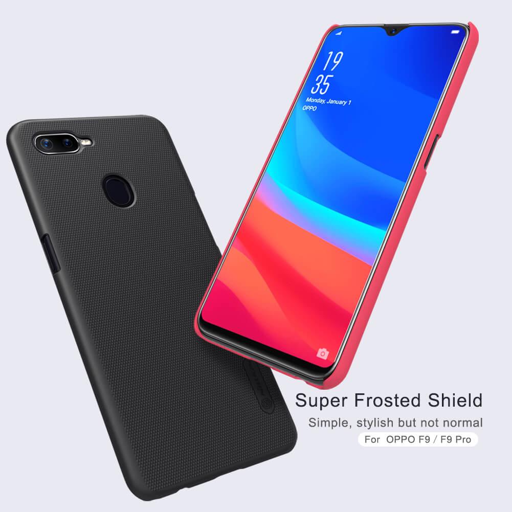 Nillkin Super Frosted Shield Matte cover case for Oppo F9 (F9 Pro)