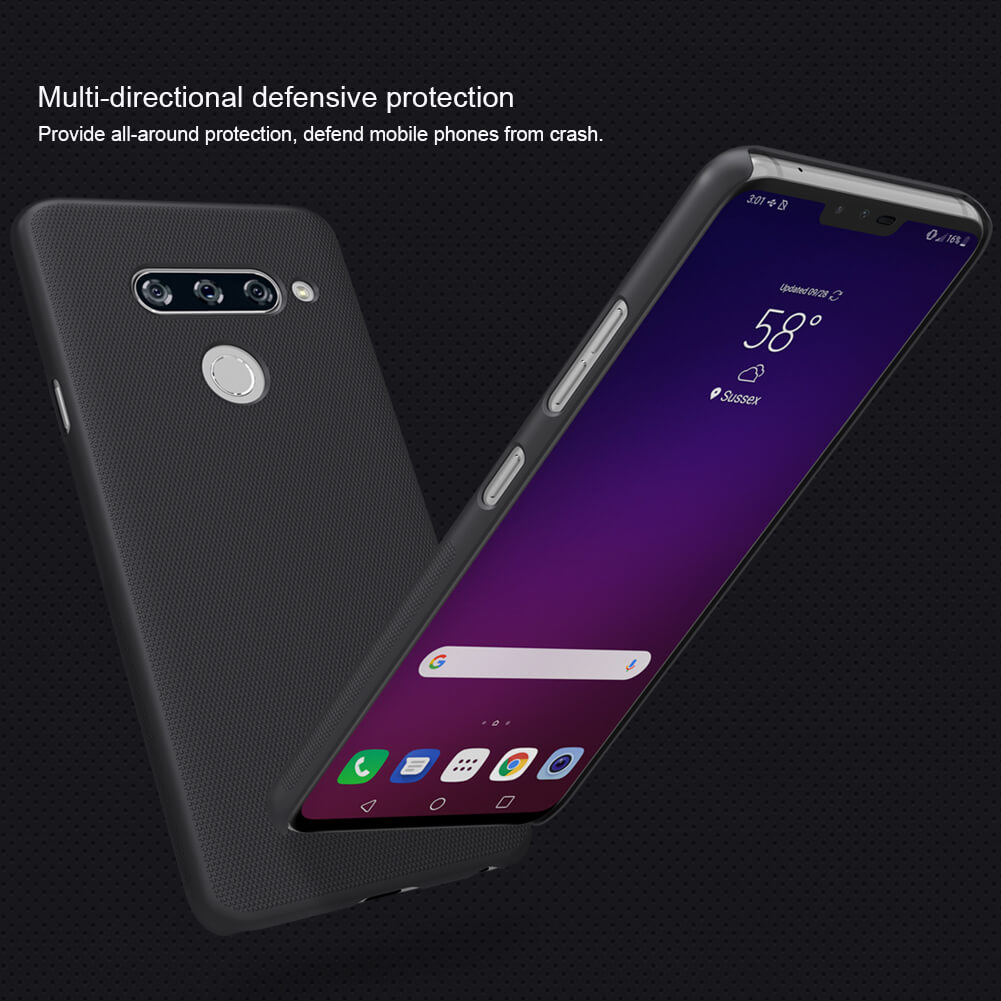 Nillkin Super Frosted Shield Matte cover case for LG V40 ThinQ