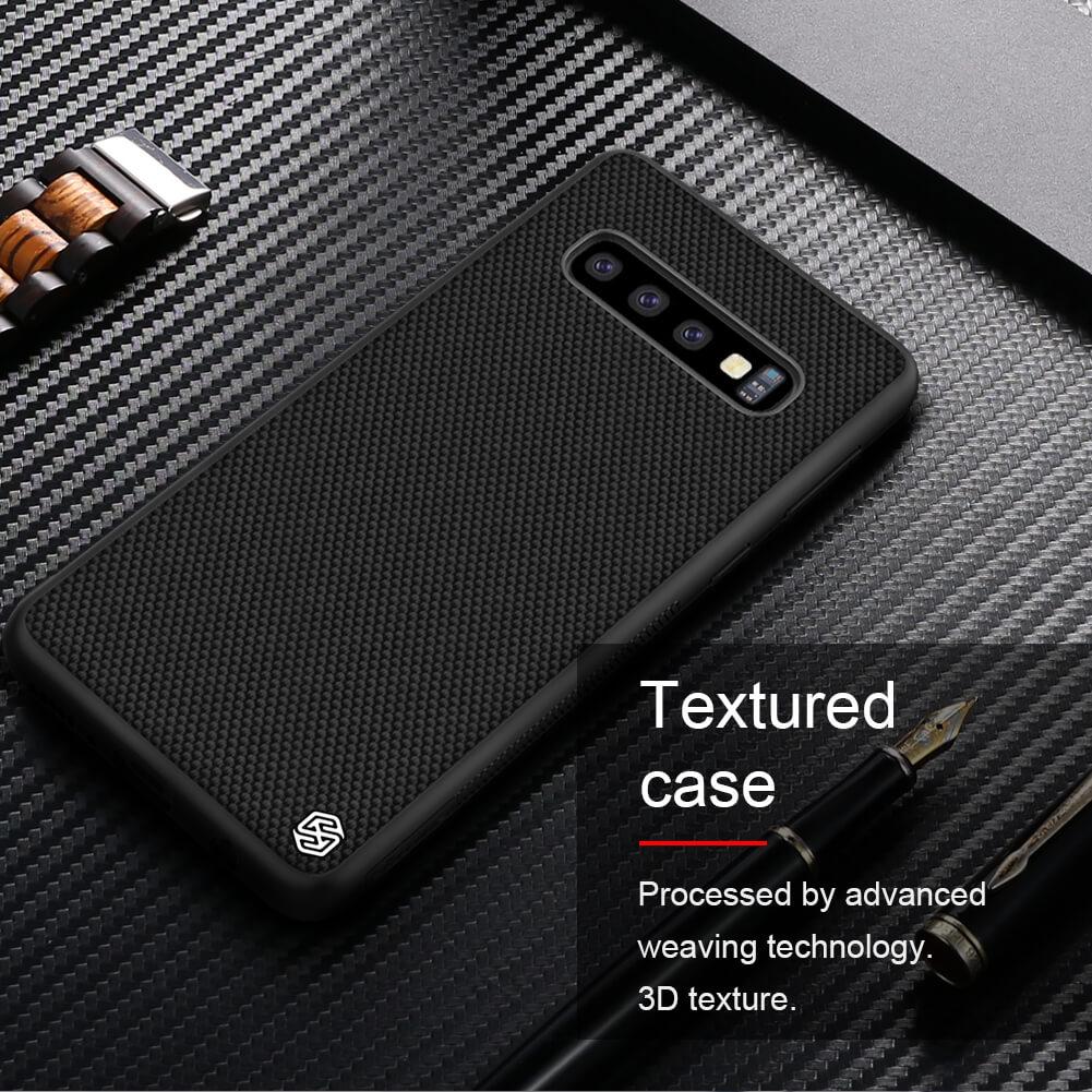 Nillkin Textured nylon fiber case Samsung Galaxy S10