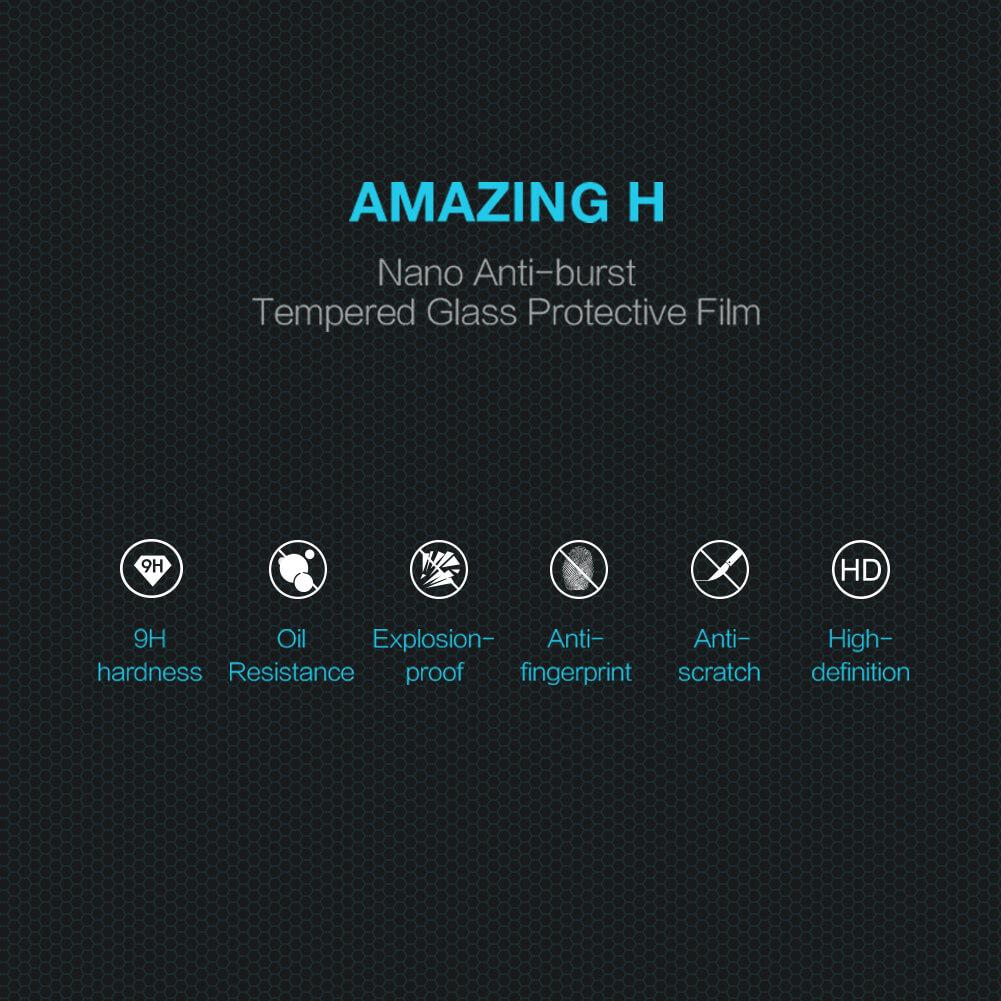 Nillkin Amazing H tempered glass screen protector for Xiaomi Mi9 (Mi 9), Mi9 Explorer