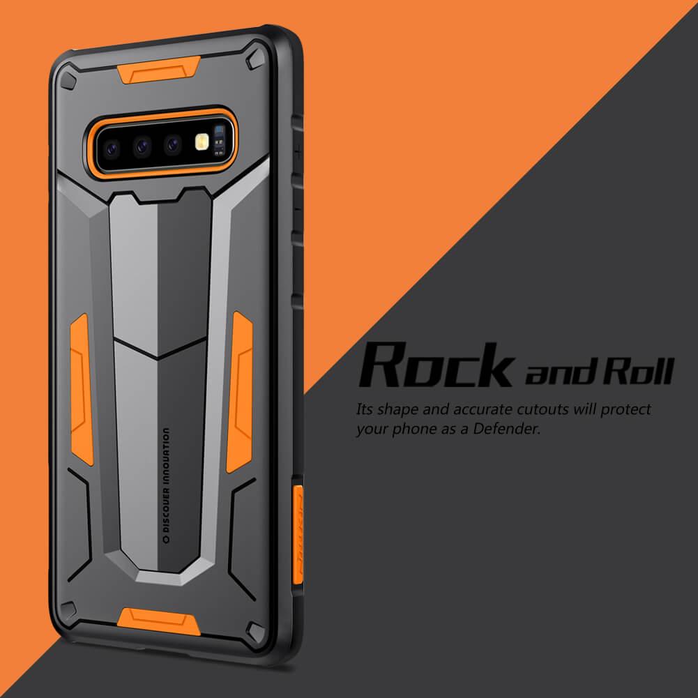 Nillkin Defender 2 Series Armor-border bumper case for Samsung Galaxy S10 Plus (S10+)