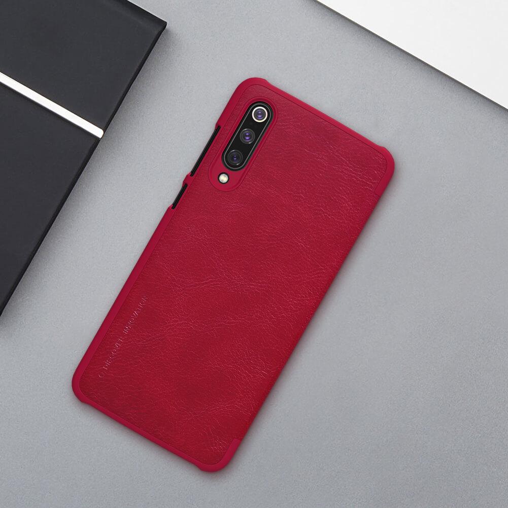 Nillkin Qin Series Leather case for Xiaomi Mi9 (Mi 9), Mi9 Explorer